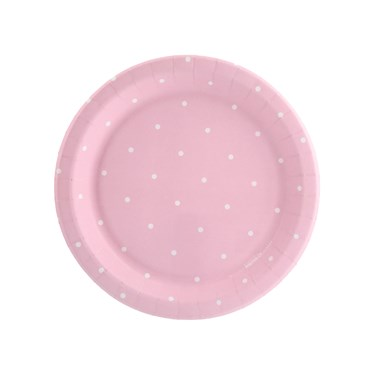 Blooming Elegance Dot Dessert Plate (8)