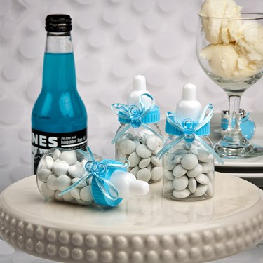 Blue Baby Bottle Favor (1)