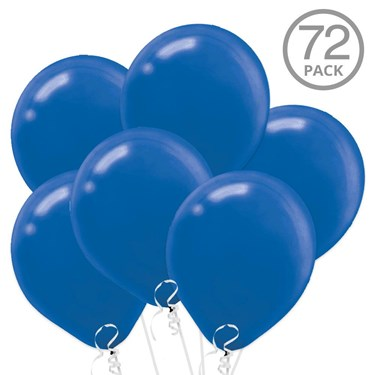 Blue Latex Balloons (72)