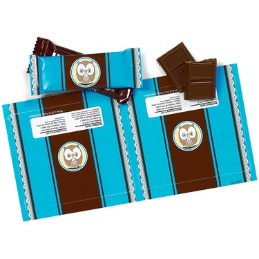 Blue Owl Small Candy Bar Wrappers
