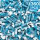 Default Image - Blue Raspberry Frooties Tootsie Rolls (3)