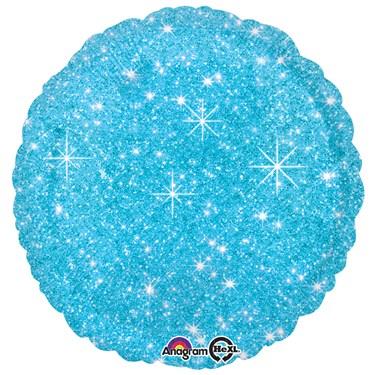 "Blue Sparkle 17"" Balloon"