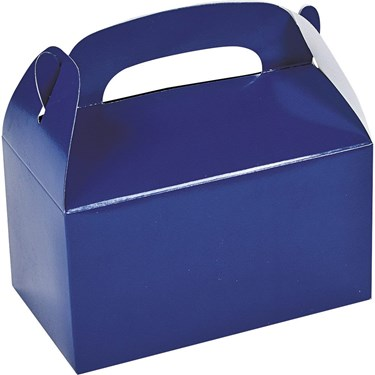 Blue Treat Favor Boxes (6)