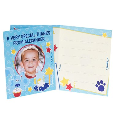 Blue's Clues Personalized Thank-You Notes