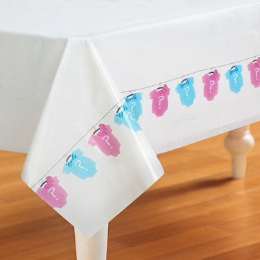 Bow or Bow Tie Plastic Tablecover