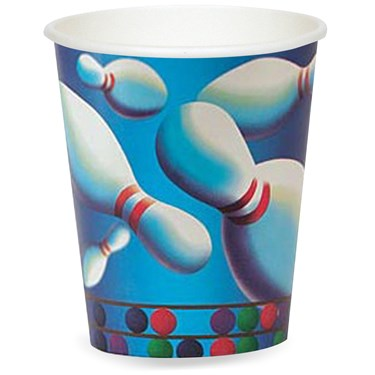 Bowling 9 oz. Cups