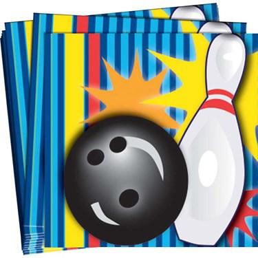 Bowling Beverage Napkins (16)