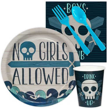 Boys Only Party Snack Party Pack