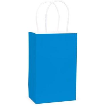 Bright Blue Favor Bag