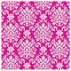 Default Image - Bright Pink Brocade Jumbo Gift Wrap