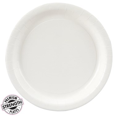 Bright White (White) Dinner Plates (24)