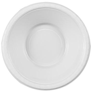 Bright White (White) Plastic Bowls