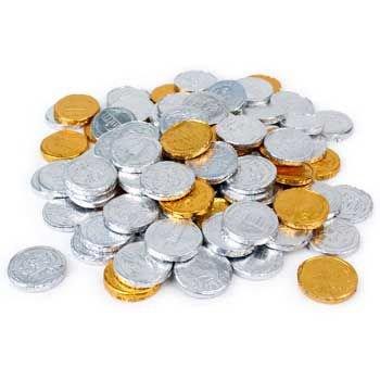 Bubble Gum Foil Coins