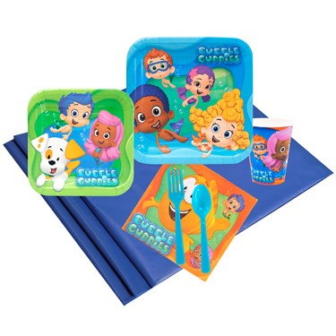 Bubble Guppies 24 Guest Party Pack