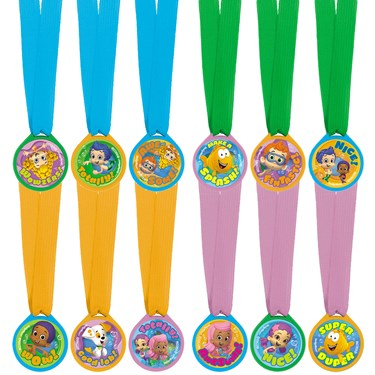 Bubble Guppies Award Medals(12)