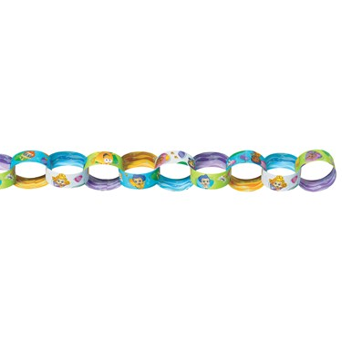 Bubble Guppies Chain Link Garland