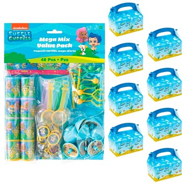 Bubble Guppies Filled Favor Box Kit  (For 8 Guests)