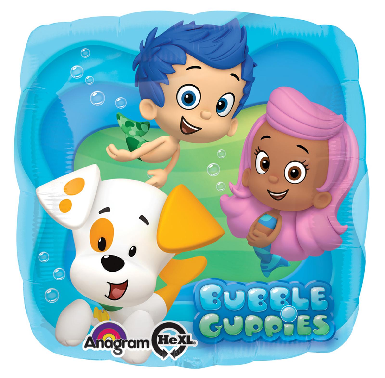 bubble guppies foil balloon birthdayexpress com