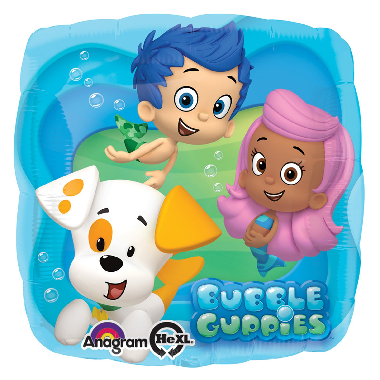 bubble guppies foil balloon | birthdayexpress