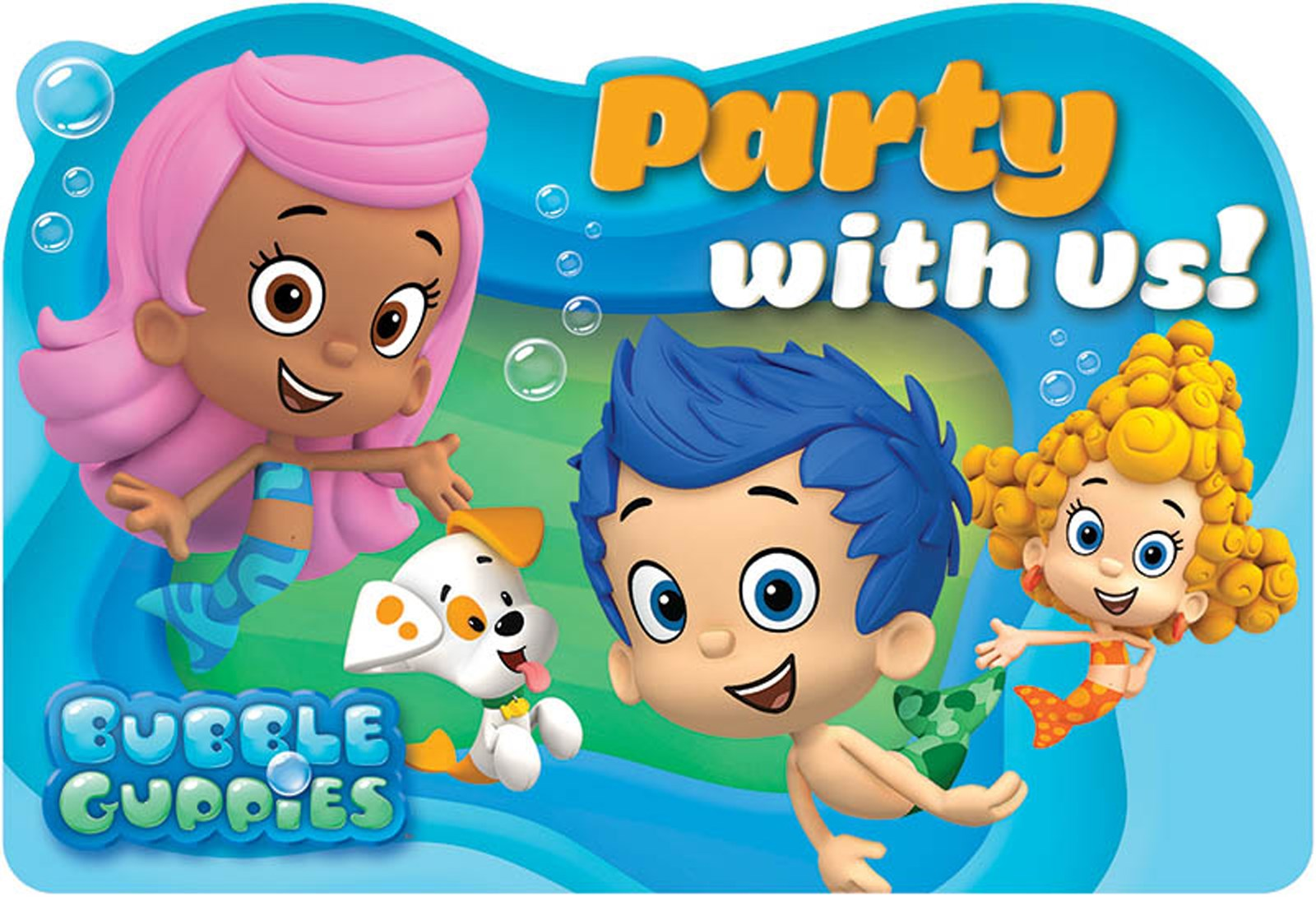 Bubble guppies invitations 8 - Bubulles guppies ...