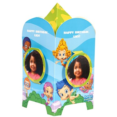Bubble Guppies Personalized Centerpiece