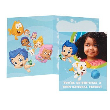 Bubble Guppies Personalized Thank-You Notes (8)