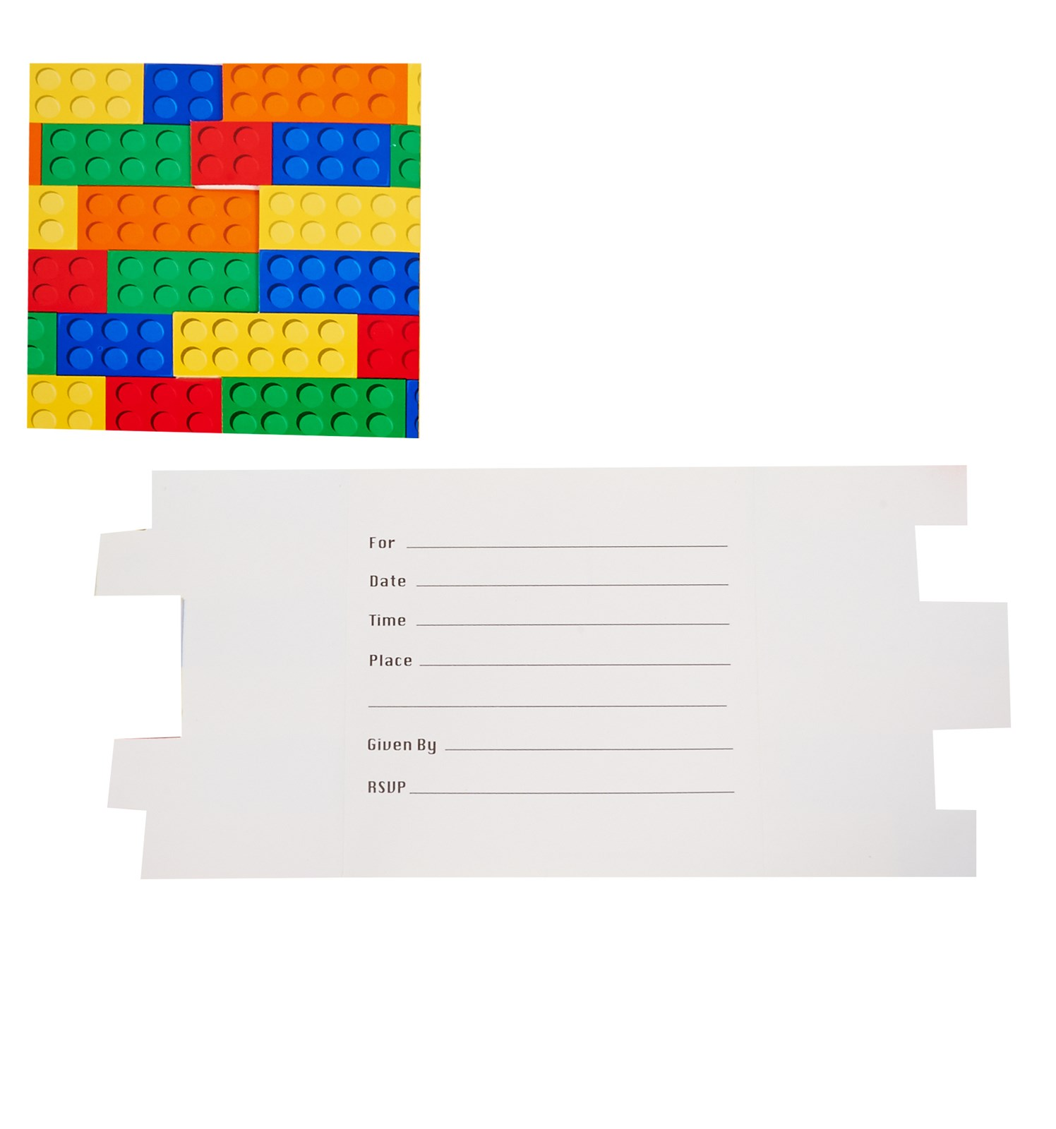 Building block party invitations birthdayexpress alt image 1 building block party invitations monicamarmolfo Choice Image