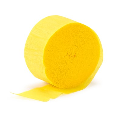 Buttercup Yellow (Yellow) Crepe Paper