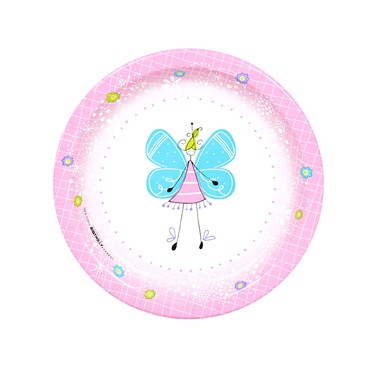 Butterfly Party Dessert Plates (8)