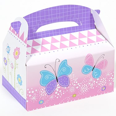 Butterfly Party Empty Favor Boxes