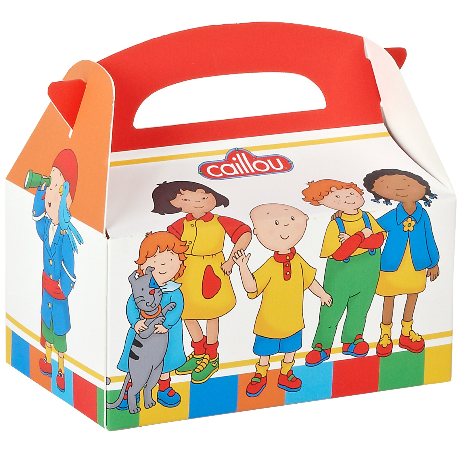 Caillou Empty Favor Boxes | BirthdayExpress.com