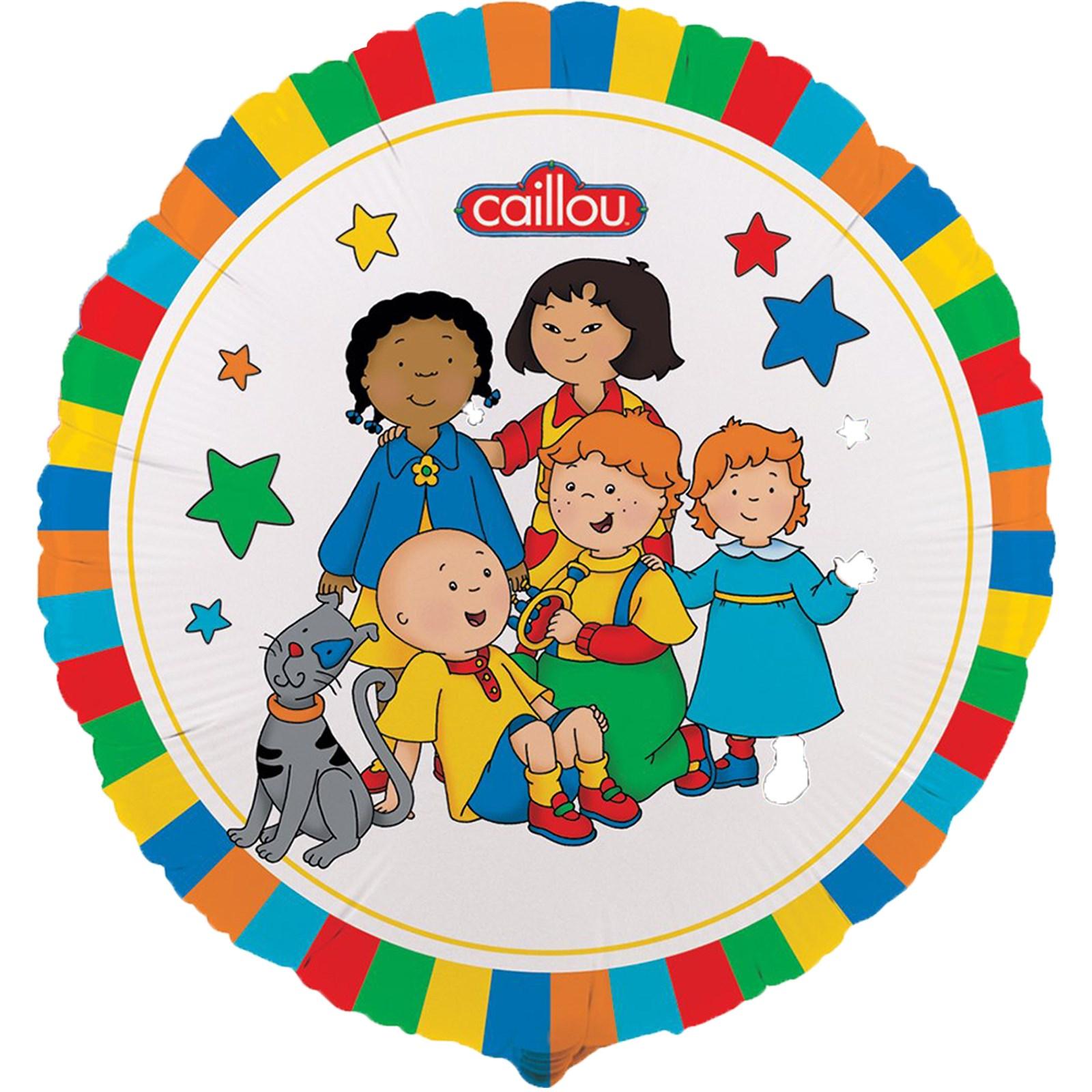 Caillou Foil Balloon   BirthdayExpress.com