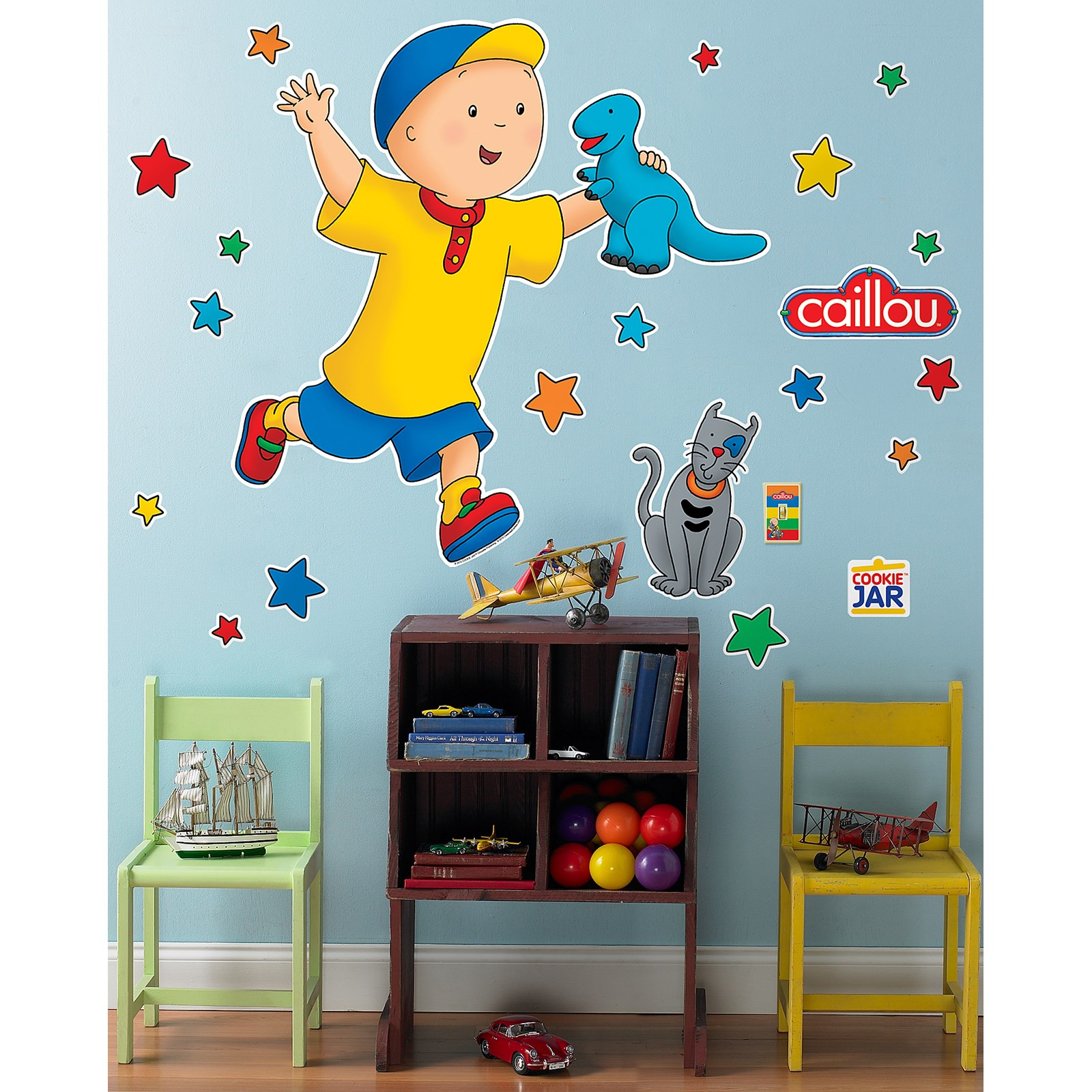 caillou giant wall decals birthdayexpress com caillou giant wall decals