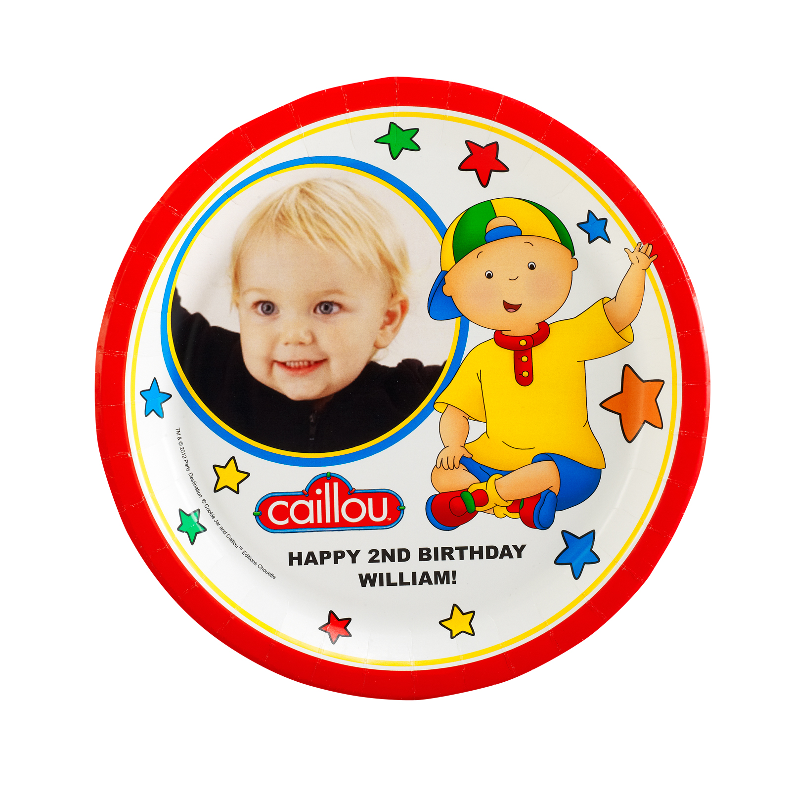 Caillou Personalized Dinner Plates  sc 1 st  Birthday Express & Caillou Personalized Dinner Plates | BirthdayExpress.com
