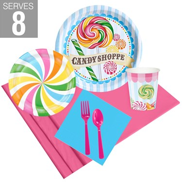 Candy Shoppe Party Pack For 8