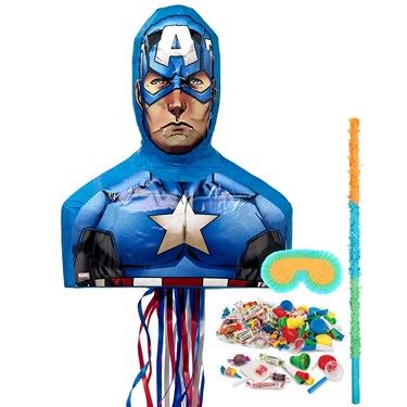 Captain America 3D Pinata Kit