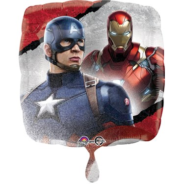 Captain America Civil War Foil Balloon