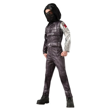 Captain America Winter Soldier - Deluxe Winter Soldier Kids Costume
