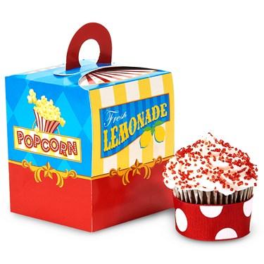 Carnival Games Cupcake Boxes
