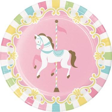 "Carousel 7"" Dessert Plate"