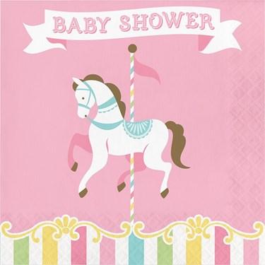 Carousel Baby Shower Lunch Napkin (16)