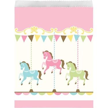 Carousel Paper Treat Bag (10)