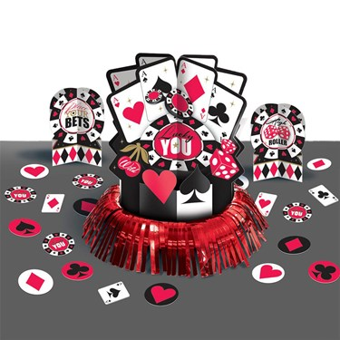 Casino Centerpiece Table Decorating Kit