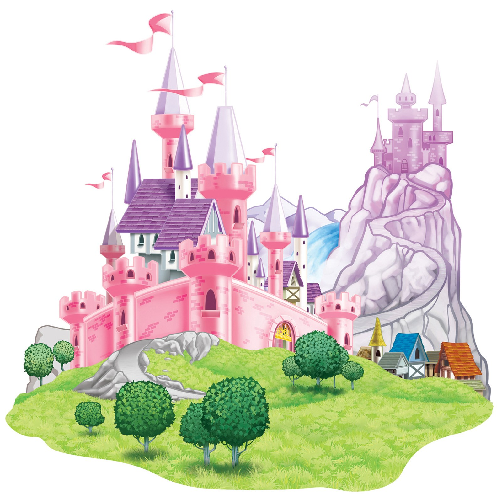 Castle prop add on - Princess party wall decorations ...