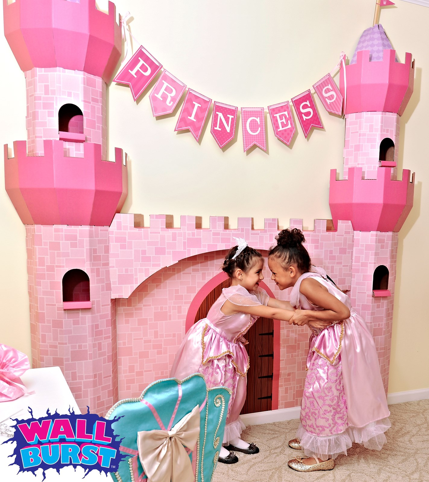castle spire - wall burst | birthdayexpress