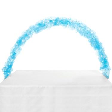 Celebration Tulle & Light Arch-Light Blue