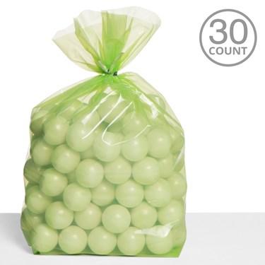 Cello Bags Lime Green (30)