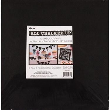 Chalkboard 12x12 Sheets (20)