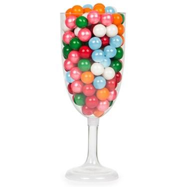 Champagne Glass 12 1/2 Pedestal Plastic