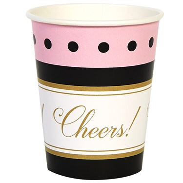 Cheers To You! 9oz Paper Cups (8)